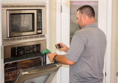 inspecting Built-In Appliances