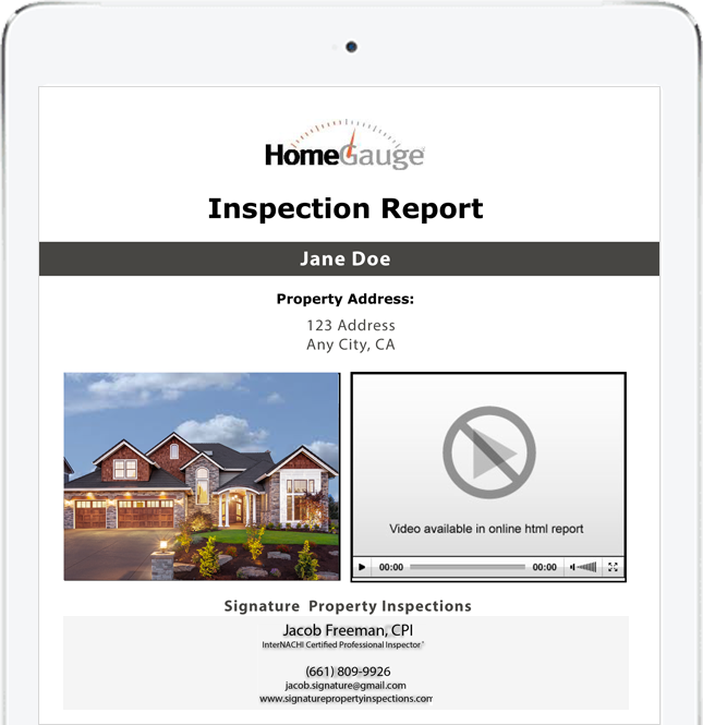digital inspection report create request list